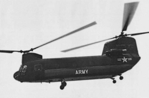 вертолеты продольной схемы